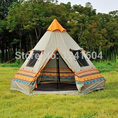 New Fire Maple Pyramid Tent 3 4 People Outdoor Casual Camping Tent Waterproof Double Door Four Windows Team Family Outings-in Tents from Sports & Entertainment on Aliexpress.com | Alibaba Group