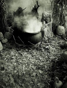 The Devil, The Witch, The Ghost - Halloween Horrors - Halloween 2014 - Pumpkinrot