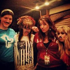 Tour bus with our Mustaches in NYC Sep 28, 2012  #LindseyStirling