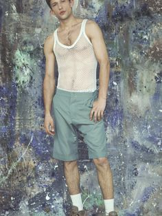 Rachel JAMES SS16 Lookbook | Photography: Jake Green | Styling: Madeleine Østlie | Hair & Makeup: Amiee Robinson | Footwear: Nike 97s | Model: Leo Topalov - Supa | Set Design: Derek Martin