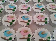Cupcake para Chá de Revelação do Sexo do Bebê