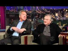 (1) David Letterman -_- Robert Deniro & Dustin Hoffman - Part 1 - 2010.12.17 - YouTube