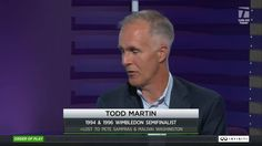 Two-time Wimbledon semifinalist Todd Martin sat down to chat with Brett Haber & Jon Wertheim about his goals as International Tennis Hall of Fame CEO. #Wimbldon (Part 1 of 3)