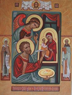 Icon of St. Luke by Kost' markovych