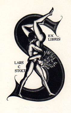Ex Libris of Lars C Stolt.. if you still read paper books instead of ebooks you could use these!