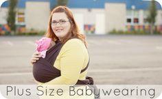 Plus Size Babywearin