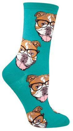 Bulldogster Socks