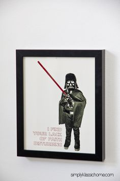 darth vader kids picture