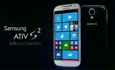 Samsung Huron aka Samsung ATIV S2 Infos