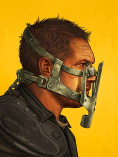 'Max Rockatansky' by Mike Mitchell