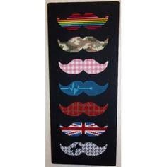 Point de croix - Moustaches