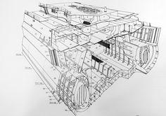 "https://flic.kr/p/kUG64s | Midships hull structure of the Italian battleship ""Littorio"""