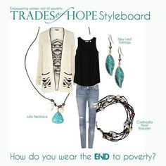 Trades of Hope - our accessories provide their necessities.