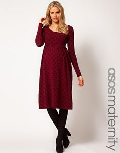 absolutely adorable winter christmas time dress maternity - Maternity Christmas Dress