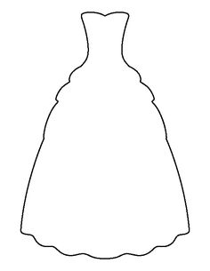 paper bridal dress pattern for wedding card | Craftside ...