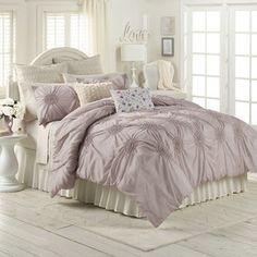 LC Lauren Conrad Eloise Comforter Set, Purple (Lilac)