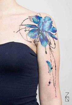45 incredible watercolor tattoos tattoo pinterest aquarell tattoos aquarell und. Black Bedroom Furniture Sets. Home Design Ideas