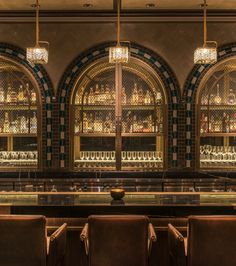 Discover the best interior design hotels with bars. See more luxurious interior design details at http://luxxu.net .