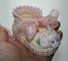 baby booties, shoes www.ebay.com/... clothes, ooak, doll, vintage