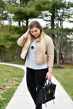 Transitional Faux Leather Jacket