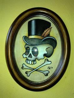 Voodoo Skull | The Art of Claudia Hek