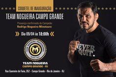 Rodrigo Minotauro recebe fãs neste sábado no Team Nogueira Campo Grande (RJ)