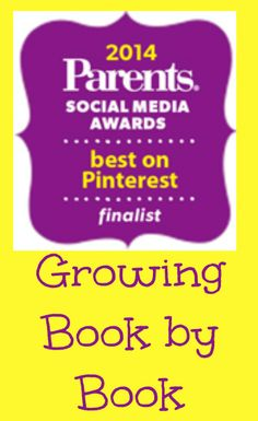 Check out why Growing Book by Book has been selected as a finalist in the 2014 Parents Social Media Awards!