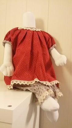 Kjole med mamelukk str 74/80 50th, Crochet Hats, Sewing, Fashion, Knitting Hats, Moda, Dressmaking, Couture, Fashion Styles