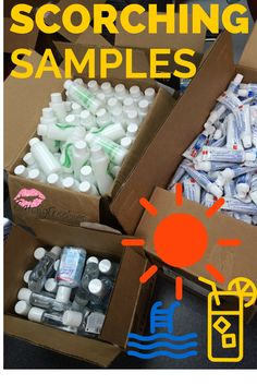 We love Summer Samples! Join our members and explore the hottest brand-name samples and coupons online! Get access to members-only giveaways, tips on frugal living and more! Sign up, grab a cold drink, and start finding offers today! #ScorchingSamples