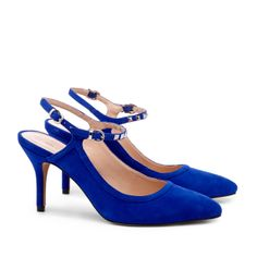 d501936b2ea mid heel slingback Dream Shoes