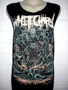 Whitechapel Rock Band Music Metal T Shirt Tank par BestRockShirts, $12.90