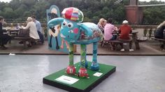 Shaun in the City Bristol - Wish You Were Here is located in the beer garden of the Avon Gorge Hotel, Bristol