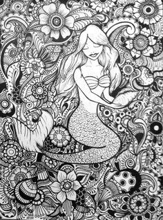 Mermaid Design by byjamierose on Etsy