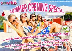★★ SUMMER OPENING SPECIAL ★★ Jetzt Party buchen!!! www.love-toys-party.com http://www.facebook.com/lovetoysparty