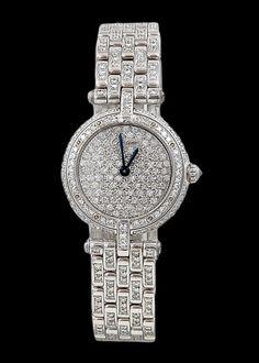 CARTIER Diamond Wrist Watch