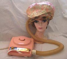 Vintage Bonnet Hair Dryer