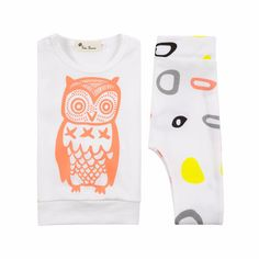Baby Boy's Wise Owl Cotton Pullover & Pants Set for Baby Girl, 20% discount @ PatPat Mom Baby Shopping App