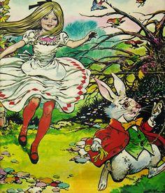 Alice's Wonderland Ch. 1 Down The Rabbit Hole| Serafini Amelia| Alice In Wonderland By Lewis Carroll Jesus Blasco - Alice in Wonderland Sharon's Sunlit Memories