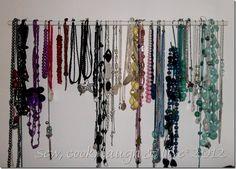DIY Necklace Holder 067