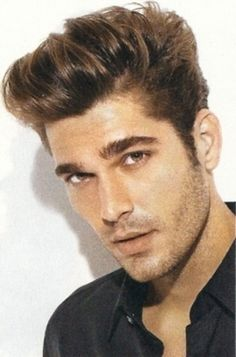Latest Men Haircuts Mens Hairstyles Short On Sides Short On Sides Long On Top Haircut Top Hairstyles For Men, Cool Haircuts, Haircuts For Men, Cool Hairstyles, Men's Haircuts, Hairstyle Short, Haircut Long, Bridal Hairstyles, Hair Styles 2014