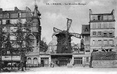 Le Moulin Rouge Vers 1900