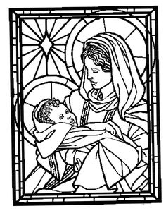 Risultati immagini per vitrail Coloring Pages For Grown Ups, Colouring Pages, Adult Coloring Pages, Coloring Sheets, Coloring Books, Christmas Colors, Christmas Art, Egypt Cat, Nativity Coloring Pages