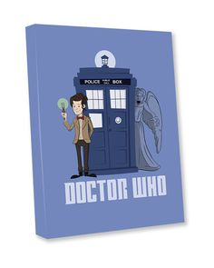Original Dr Who canvas.  See our Bespoke Art tab on our website.