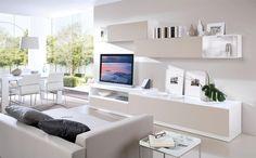 küçük ev salon dekorasyonu tv konsolu - Google'da Ara