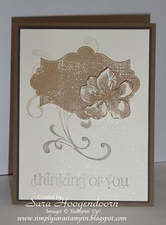Thinking of You by shoogendoorn - Cards and Paper Crafts at Splitcoaststampers