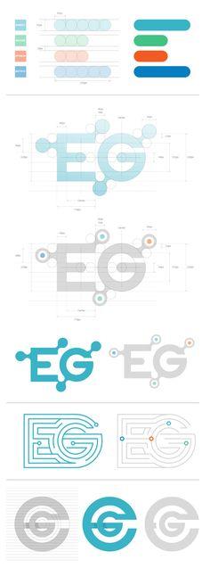 Discover a selection of 30 logos with the construction grids during the . Design Web, Graph Design, Typography Logo, Logo Branding, Enterprise Logo, Editorial Design, Logo Image, Inspiration Logo Design, Great Logos