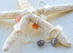 Multi Moonstone Stars Sterling Silver Necklace by luxurybyvera, $61.00
