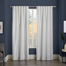 Greenwich Curtain + Blackout Liner - Ivory