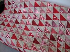 seeing red quilt front | Flickr - Photo Sharing!