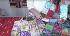If you've got some extra charm squares laying around (or enough fabric to make your own) then we've got a great project for you